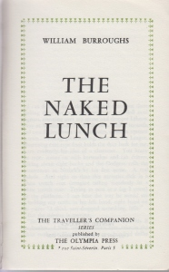 TC 76 Naked Lunch           Title Page