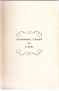 Nunnery Tales 1902 Half Title