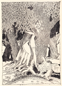 5 Illustration by Le Roy for Nunnery Tales 1902