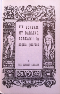 Scream Title Page