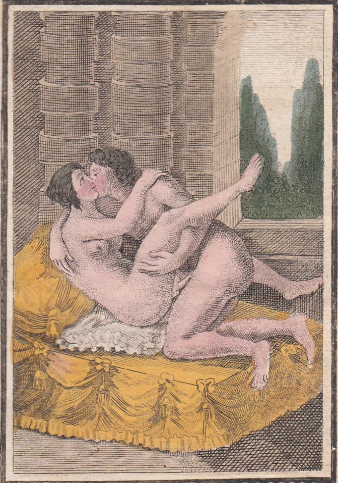 Foot binding erotica