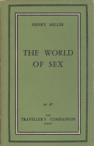 TC. 47 The World of Sex 1959