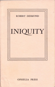 Iniquity Ophelia Press Paris 1965_0001