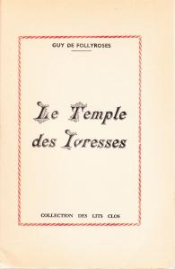Le Temple Des Ivresses Losfeld 1955_0004