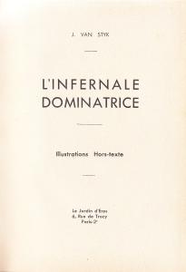 L'Infirnale Dominatrice Le Jardin D'Eros 1935_0002