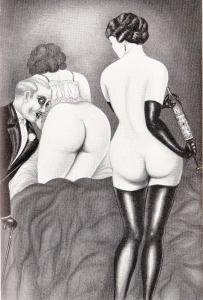 L'Infirnale Dominatrice Le Jardin D'Eros 1935_0004