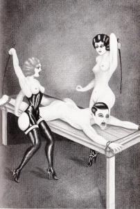 L'Infirnale Dominatrice Le Jardin D'Eros 1935_0007