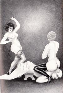 L'Infirnale Dominatrice Le Jardin D'Eros 1935_0009