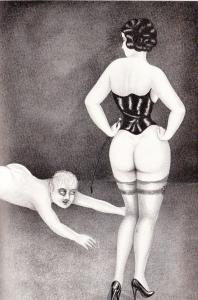 L'Infirnale Dominatrice Le Jardin D'Eros 1935_0010