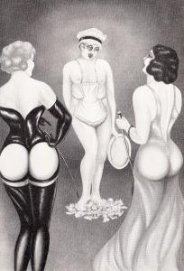 L'Infirnale Dominatrice Le Jardin D'Eros 1935_0012