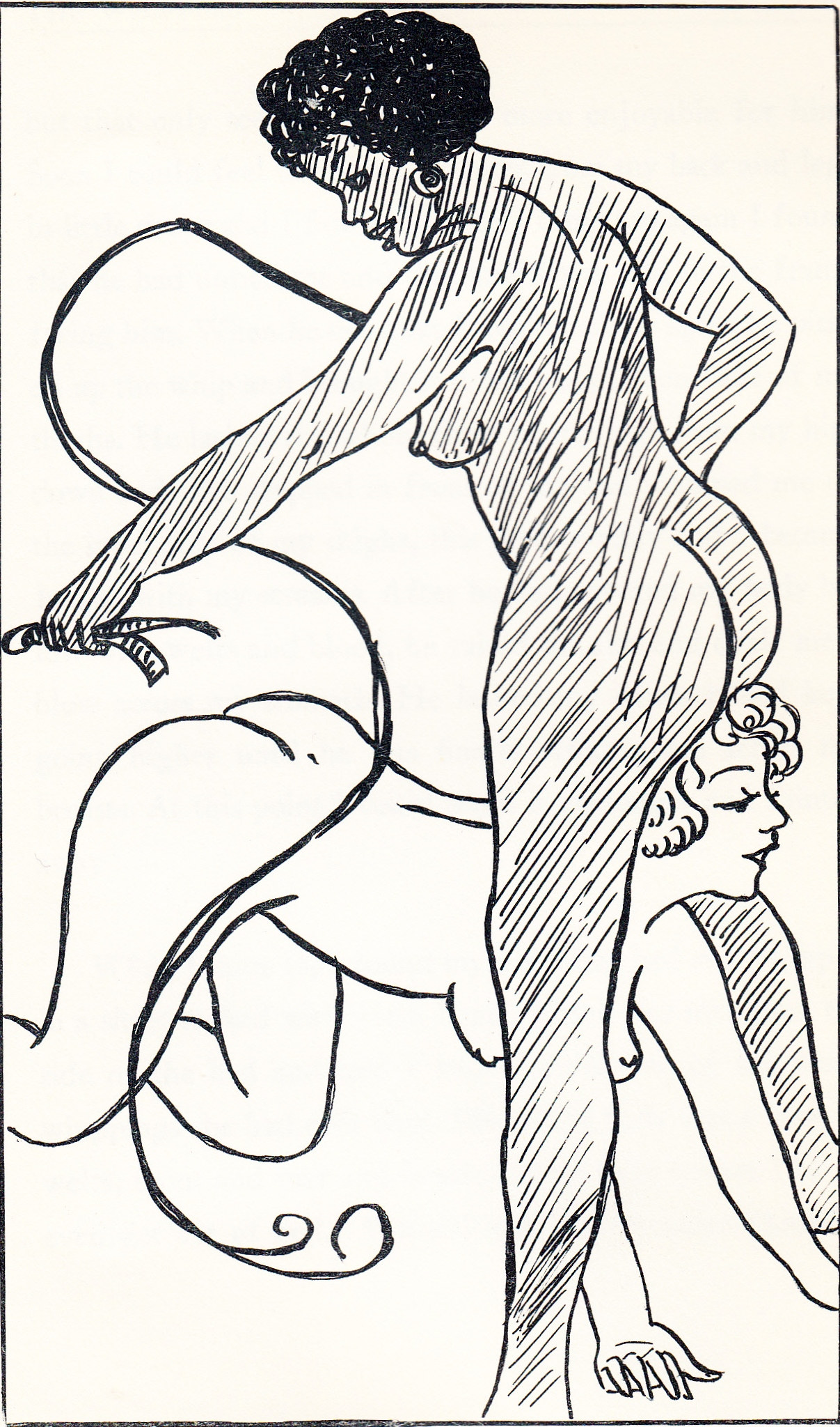 Spanked in Bed with The Whippers C1930's_0009
