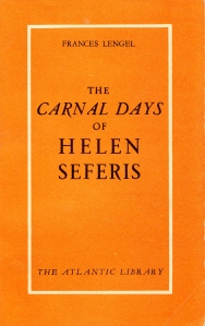 The Carnal Days of Helen Seferis Frances Lengel 1954_0001