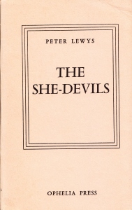 The She Devils Ophelia Press Paris 1965_0001