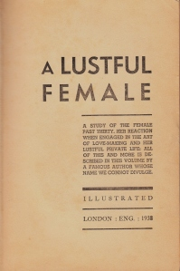 A Lusfulf Female Anon London 1938_0002