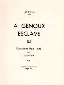 A Genoux Esclave Les Editions du Couvre-Feu Wighead_0006