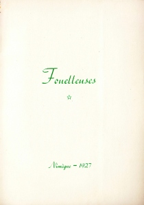 Fouetteuses Losfeld 1955