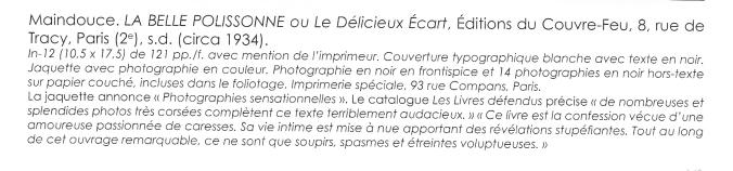 La Belle Polissonne ou le Délicieux Ecart Editions du Couvre-Feu_0202