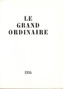 Le Grande Ordinaire_0002