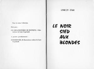le noir sied aux blondes clandestine 1959_0002