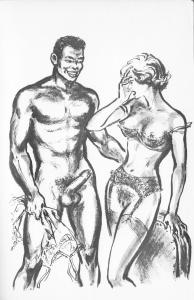 le noir sied aux blondes clandestine 1959_0003