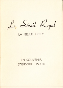 Le Serail Royal La Belle Letty Losfeld_0004