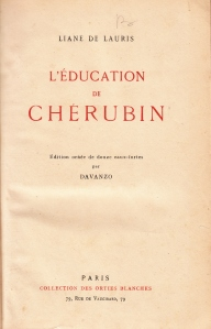 L'Education de Cherubin Davanzo Orties Blanches 1934_0001
