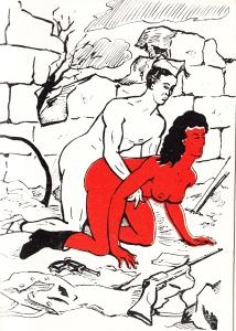 Les Audaces  amoureuses de Melle de B.. Losfeld_0013