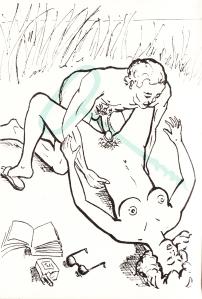 Les Audaces  amoureuses de Melle de B.. Losfeld_0015