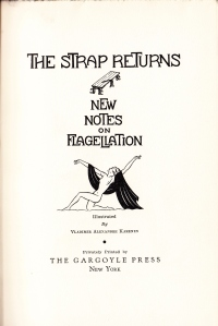 The Strap Returns Gargoyle Press 1934_0003