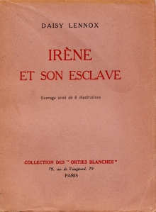 Irene et son Esclave Orties Blanches Davanzo 1933_0001