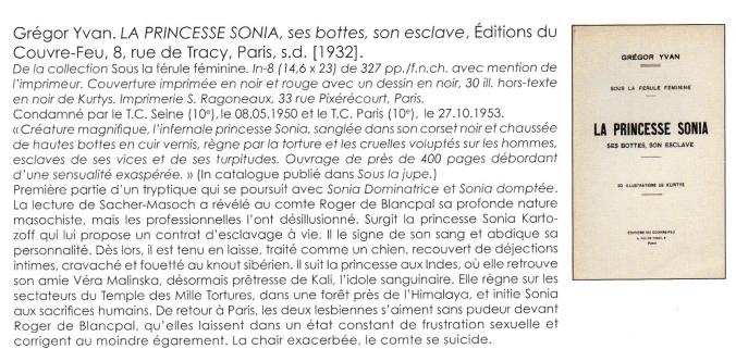 La Princess Sonja Editions du Couvre-Feu