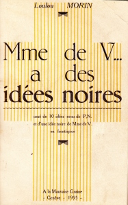 mme de V... a des Idees Noires Losfeld 1955_0001