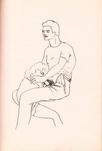 mme de V... a des Idees Noires Losfeld 1955_0005
